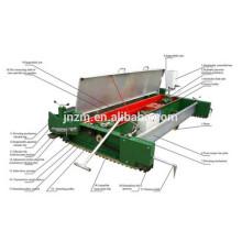 Máquina de extensión de la pavimentadora de goma TPJ-1.5 para el parque