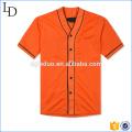 Camisetas en blanco de los hombres de béisbol de la camisa de fútbol de encargo del estilo del vintage