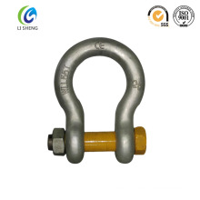 US Type G2130 bolts type bow shackle
