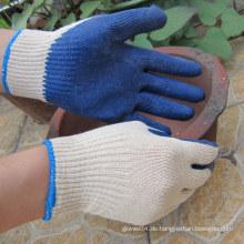 Latex getauchte Palm Handschuhe Sicherheits-Economy Grade Work Handschuh