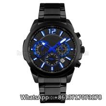 Novo estilo de relógio de quartzo, moda relógio de aço inoxidável Hl-Bg-191