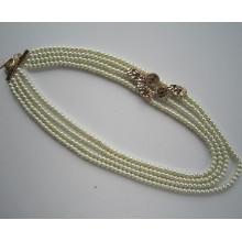 2015 стекло из бисера ожерелье, ожерелье ювелирные изделия как подарок для матери