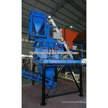 Misturador de betão automático Twin-Shaft JS750 Misturador automático para linha de fabricação de blocos