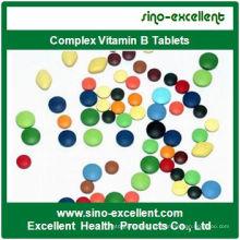 Nahrungsergänzungskomplex Vitamin B Tablette