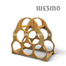 Wine Storage Dispay Bamboo Rack