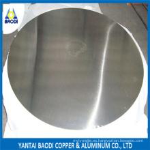 Círculo de aluminio para olla, sartén, cocina