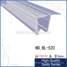 90 degree shower door waterproof vinyl seal strip