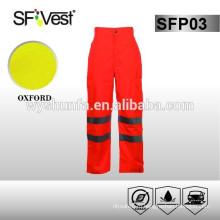Водонепроницаемые брюки из ткани с 100% полиэфиром 300D oxford, класс D / N, AS / NZS1906