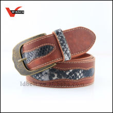 2014 Classic Design Snake Leather Belt
