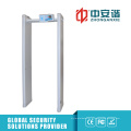 100 Nível de segurança 6/12/18/33 Zonas Archway Metal Detector