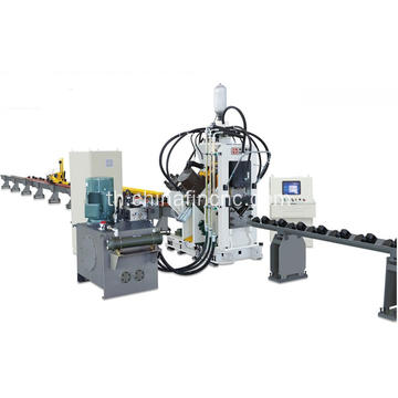 CNC Punching Marking Shearing Line สำหรับมุม