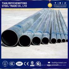 preço de tubulação de água de aço galvanizado por imersão a quente de grande diâmetro