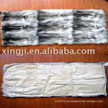 Placa de pieles de zorro azul europeo