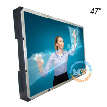 TFT color open frame 47inch LCD monitor with USB powered touch screen