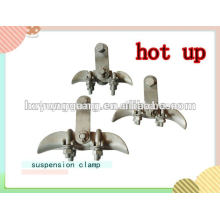 aluminium alloy suspension ACSR cable clamp overhead power line fitting connect fitting electric power transmission line fitting