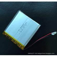 906065 3.7V 4000mAh Li-Polymer Akku Wiederaufladbare Batterie