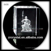 Imagen subsuperficial de láser 3D K9 Dentro de bloque de cristal