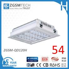 Ce Listed wasserdichtes 120W 110lm / W CRI70 LED Tankstelle Licht