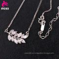 El collar de plata de piedras preciosas de diseño más nuevo