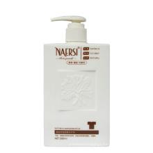 500ml Empty shampoo face white cream hair extension bottle packaging