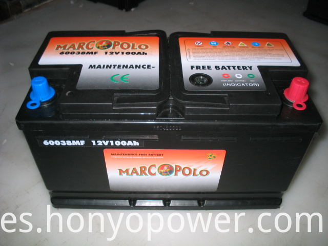 60038MF Lead-acid MF Car Batteries