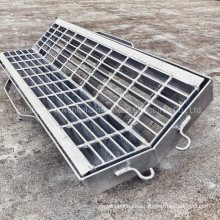 Jimu Hot DIP Galvanized Drainage Manhole Trench Cover Gully Grate