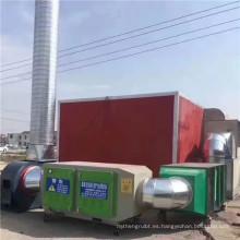 Hebei fábrica de fotólisis UV equipo de oxidación de ozono purificador de aire