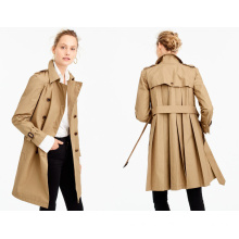 Ladi Loose Jacket with Pleated Trench Jacket