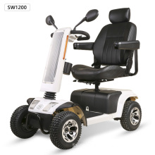 wheelchair with solar board