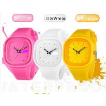 Yxl-994 2016 Neue berühmte Marke Mode Genf Jelly Quarzuhr Frauen Dünne Silikon Armbanduhren Relogio Damenuhr