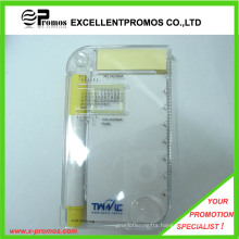 Promotional Multifunction PP Case Sticky Notepad with Ruler (EP-R9100)