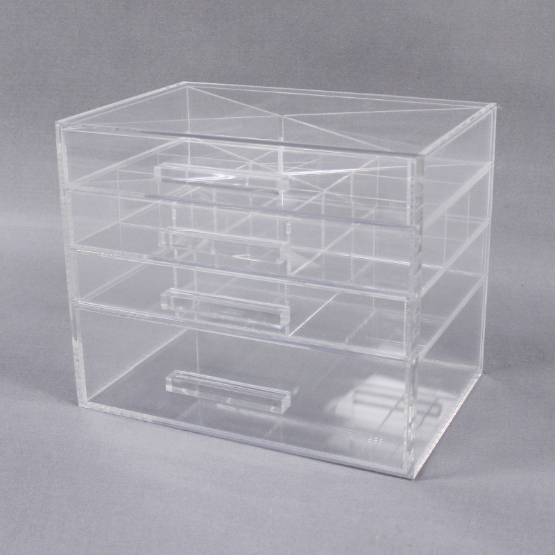 Acrylic Makeup Organizer Drawers
