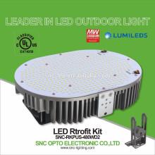 Jogos de retrabalho aprovados 480W da luz do parque de estacionamento do diodo emissor de luz do UL da proteção do controle de temperatura