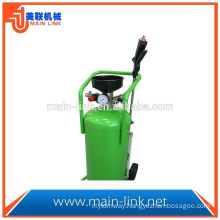 Stainless steel foam cleaning machine