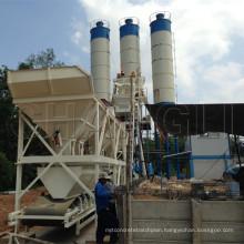 Hzs50-50m3/H Skip Hoist Type Concrete Mixing Plant Manufacturer