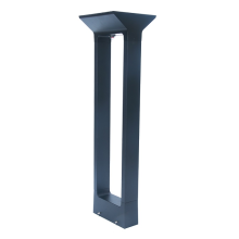 Solar lawn lamp post for park