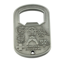 2015 New Products 3D Engraved Metal Opener with Your Design