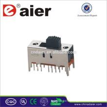 Daier 250V interruptor deslizante SS43D01 hecho en China 4p4t interruptor deslizante