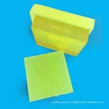 Folha do poliuretano da costa 85A da espessura da alta qualidade 5mm