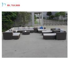C-2016 Outdoor Garden Luxury Modern Furniture PE Rattan Combination Sofa