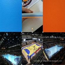 Китай Facroty продажи ПВХ спортивные покрытия для гандбола / волейбола