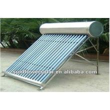 Collecteur solaire à vide pour piscines domestiques