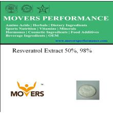 Extracto de Planta Natural - Extracto de Resveratrol 50%, 98%