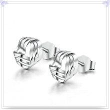 Bijoux en forme Bijoux en argent 925 boucles d'oreille en argent sterling (SE026)
