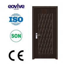 Puerta de madera de puerta plegable de pvc de diseño caliente