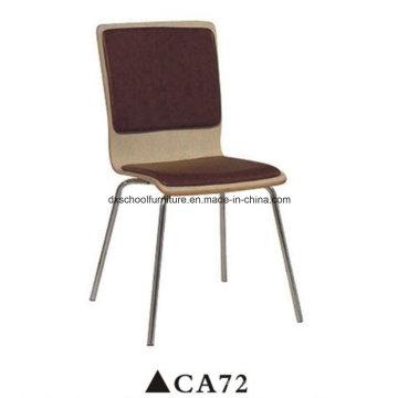 Chaise à cadre en acier inoxydable