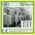 Linha de produção de leite pasteurizado