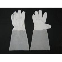 Goat Leather Palm Long Sleeve TIG Welding Work Glove