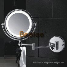 Miroir de maquillage de salle de bains LED de 8 pouces (M-9208)