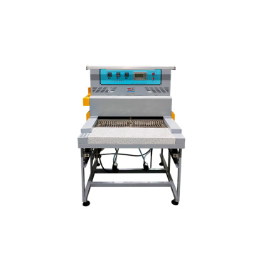 rubber pvc patch backing machine for heating